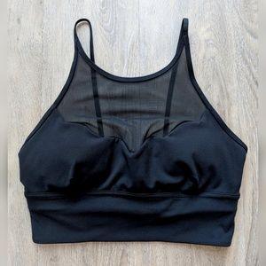 Lululemon | black sports bra | small